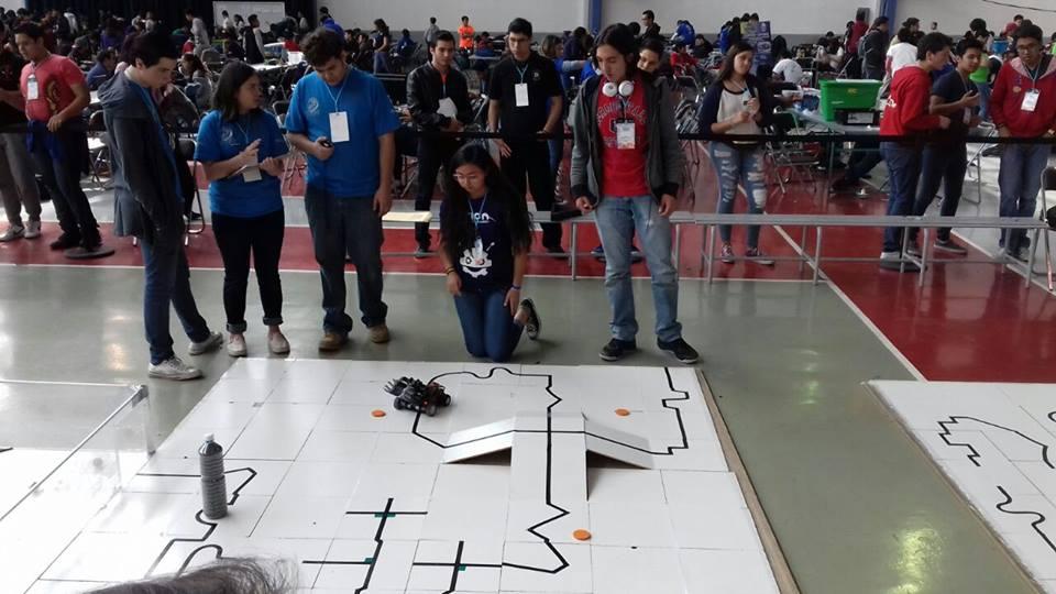 Torneo mexicano de robótica (TMR)