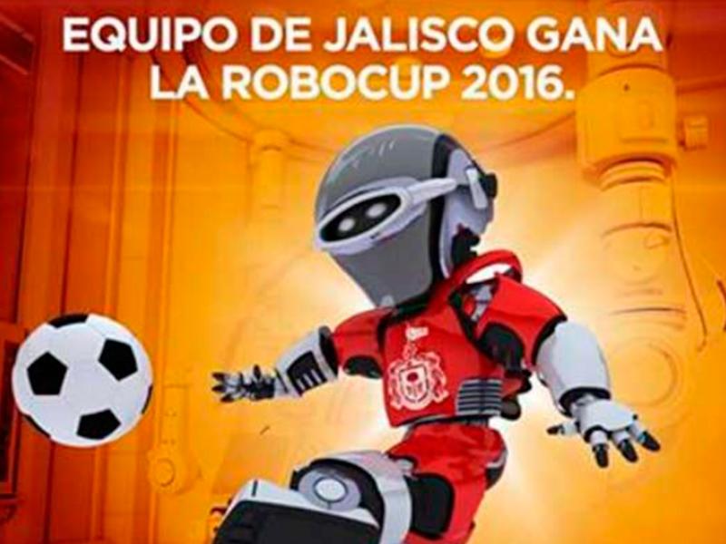 Ganan torneo de robótica internacional